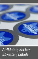 Aufkleber - Sticker - Etiketten